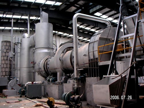 Rotary kiln incinerator manufacture India